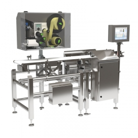 DWM 7500 HPE Labelling Checkweigher